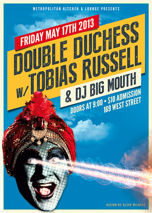 Tobias Russell & Double Duchess Show Flyer