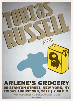 Tobias Russell Arlene's Grocery NYC